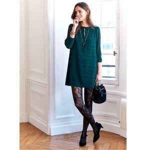 Sezane - Jones green dress (36 FR)